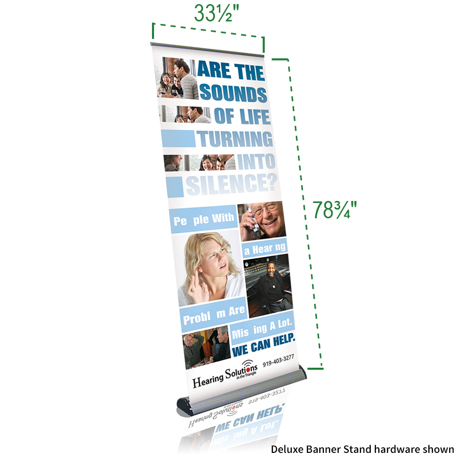 Deluxe Banner Stand